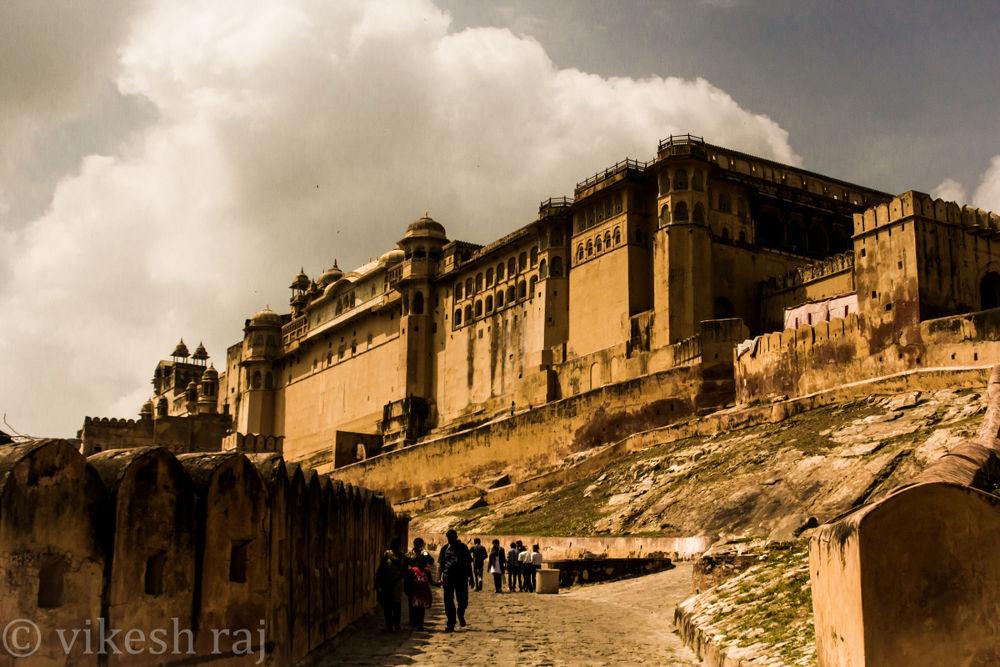 AmberFort, Jaipur by vikesh raj