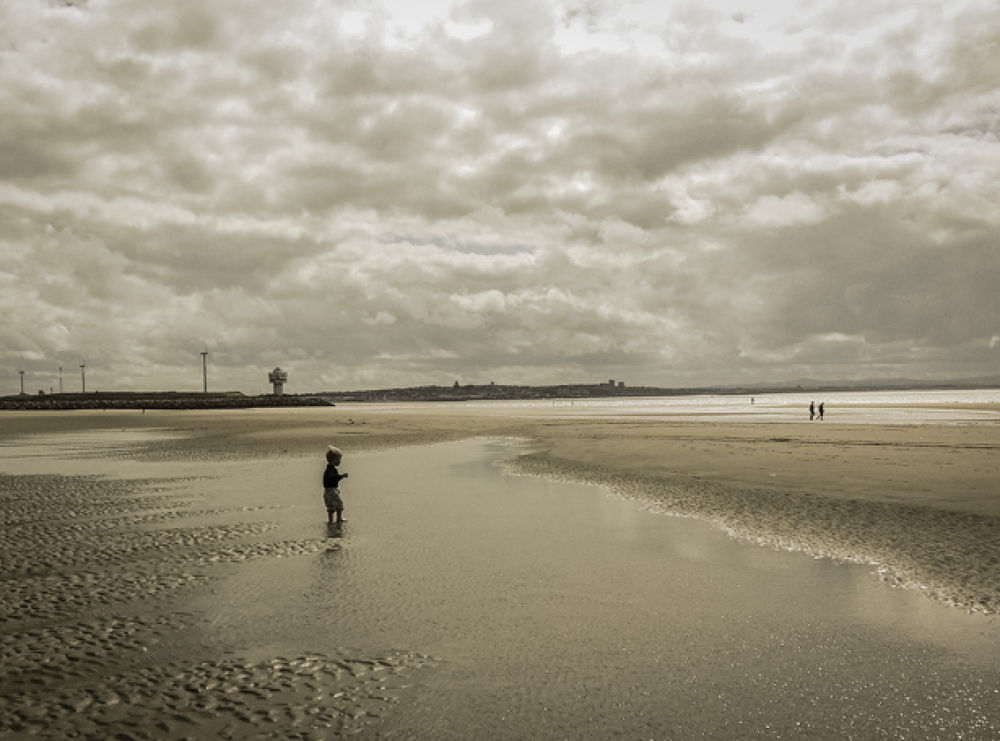 little man and the sea by Anita Krecz