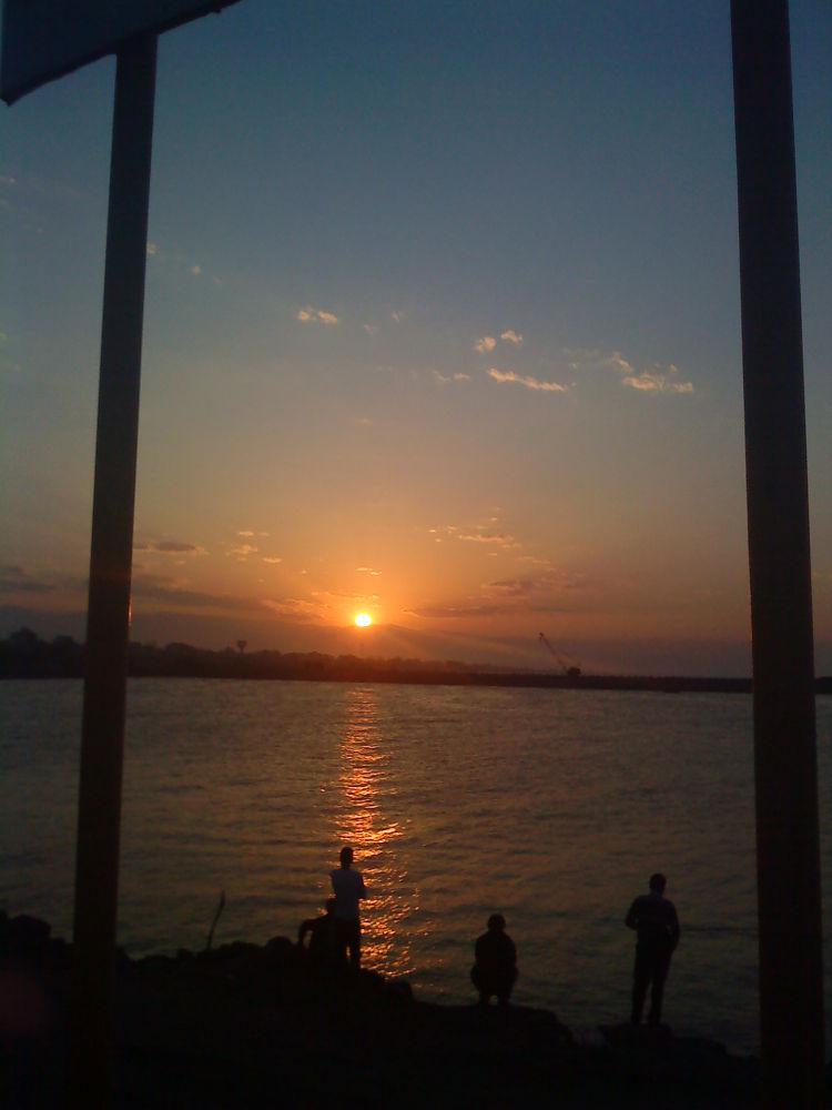 sunset & sea by matak