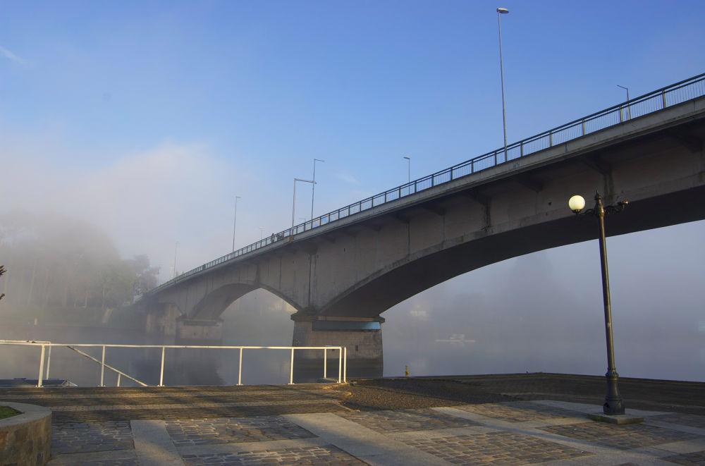 Puente Pedro de Valdivia by maxparada
