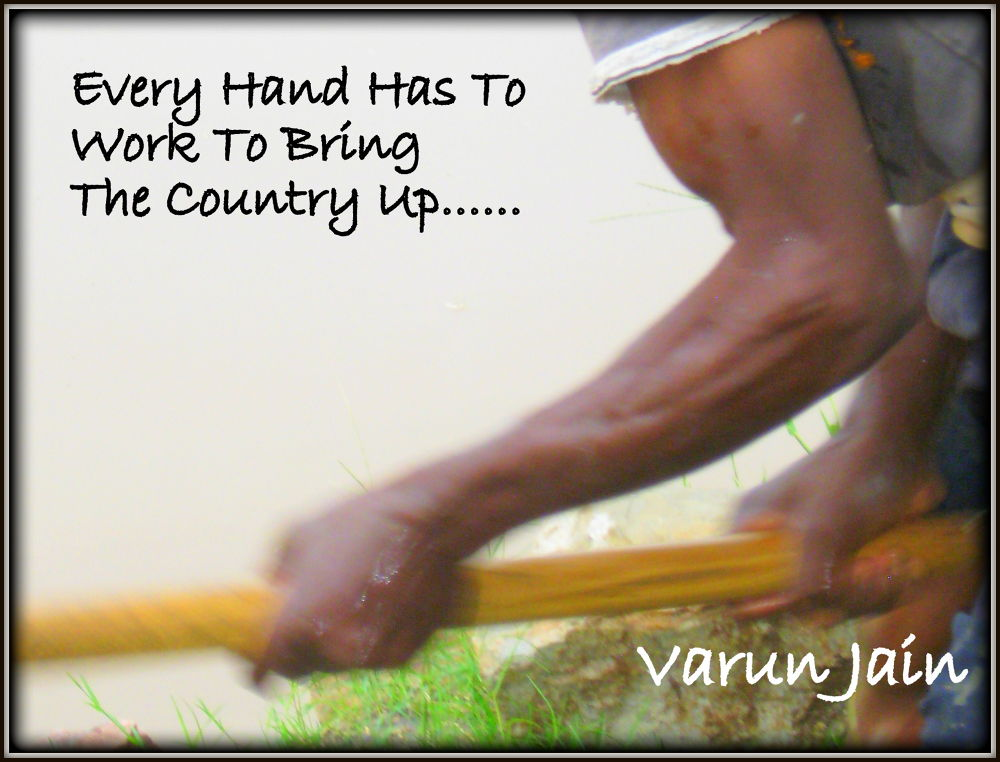 work hard by Varun Jain