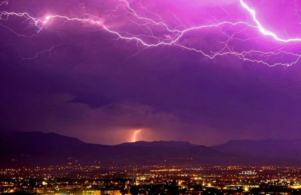 Lightning ( my home balcony - Kocaeli ) by Murat VURAL