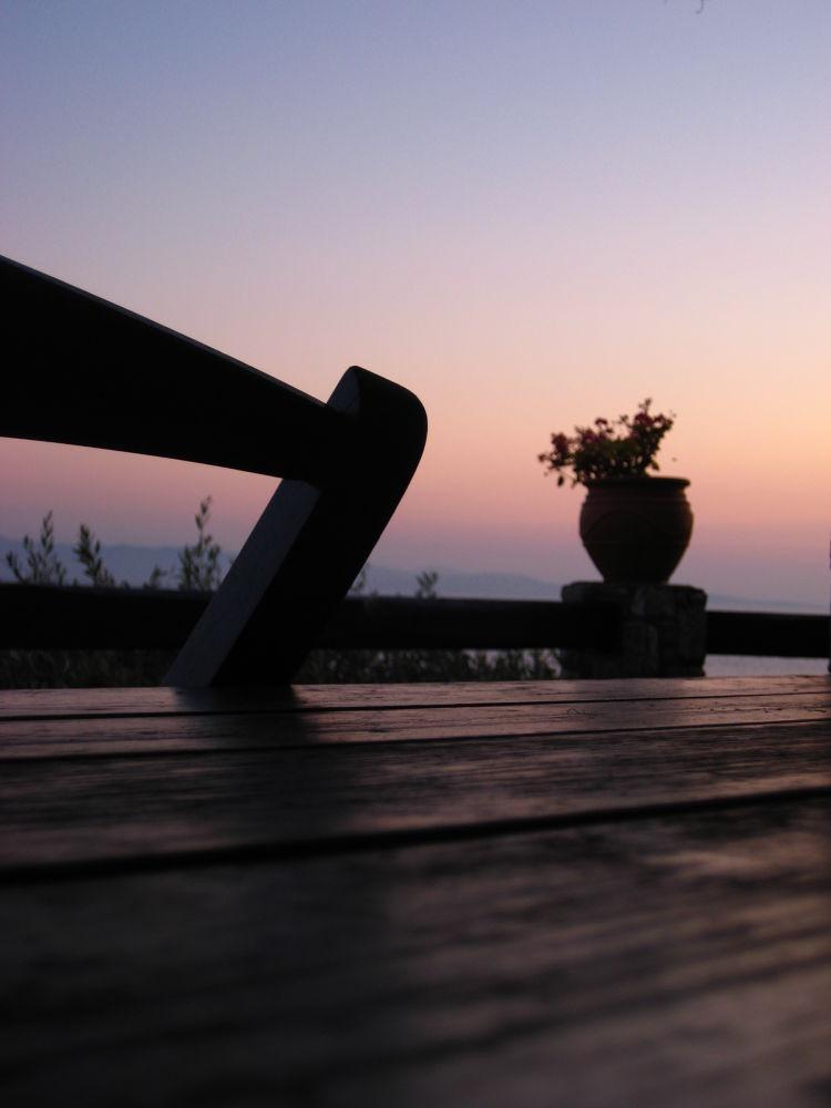 Sunset at Skopelos Island by ATHINADOKA