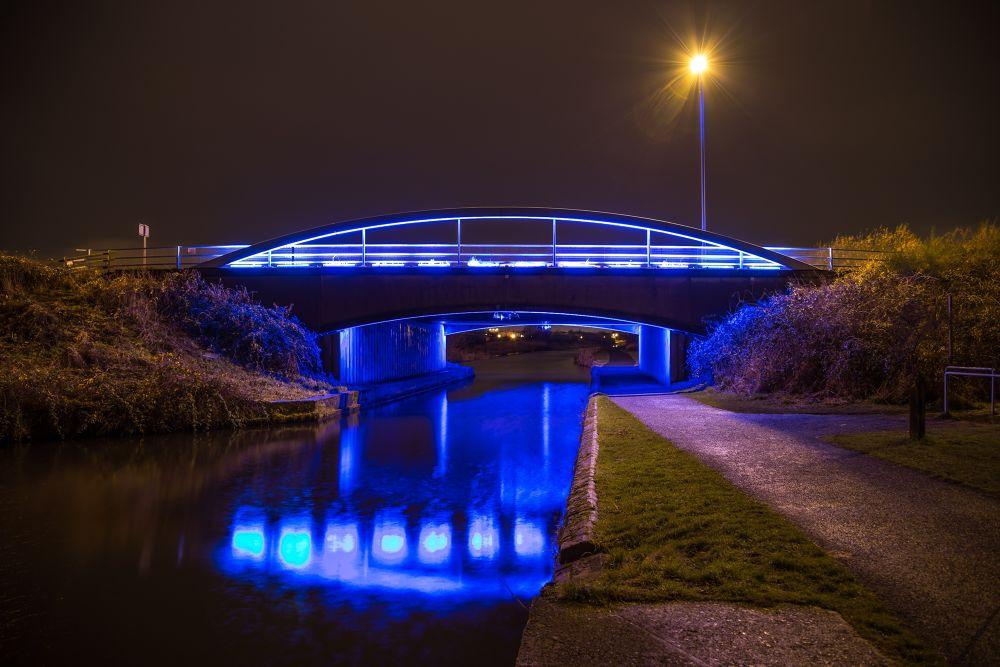 The Blue Bridge by busterbrownbb