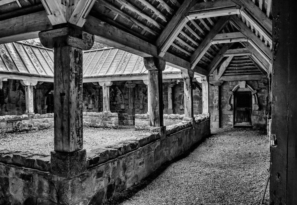 Photo in Architecture #kirk #cloister #scotlan #buster #church