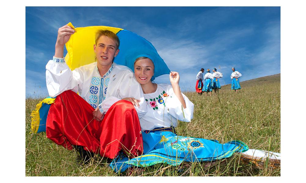 L'Ukraine est à l'honneur dans les Alpes française - la Rosière  juillet 2007 by didierlaurent503