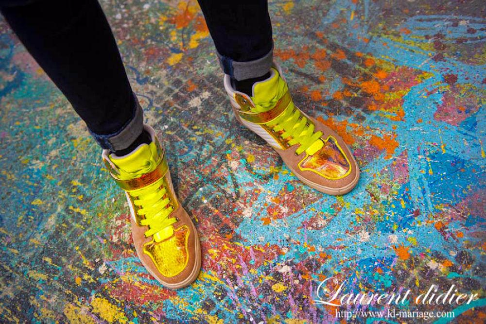 des Pompes de toutes les couleurs   tour 13  Paris oct 2013 by didierlaurent503