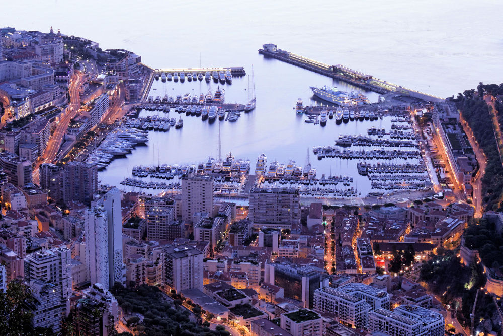 Photo in Urban #monaco #port de monaco #sunrise #urban