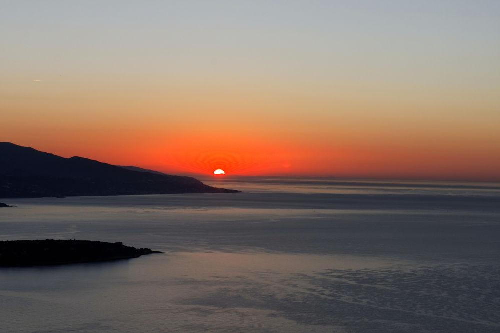 Photo in Nature #monaco #sunrise