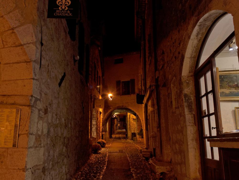 Saint paul de vence night France Alpes Maritimes by gilles couturier