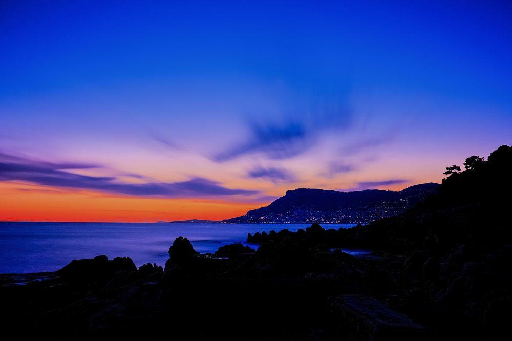 Roquebrune Cap Martin France Alpes Maritimes by gilles couturier