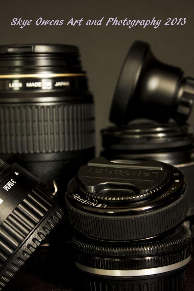 Lenses of my vision by Skye Owens