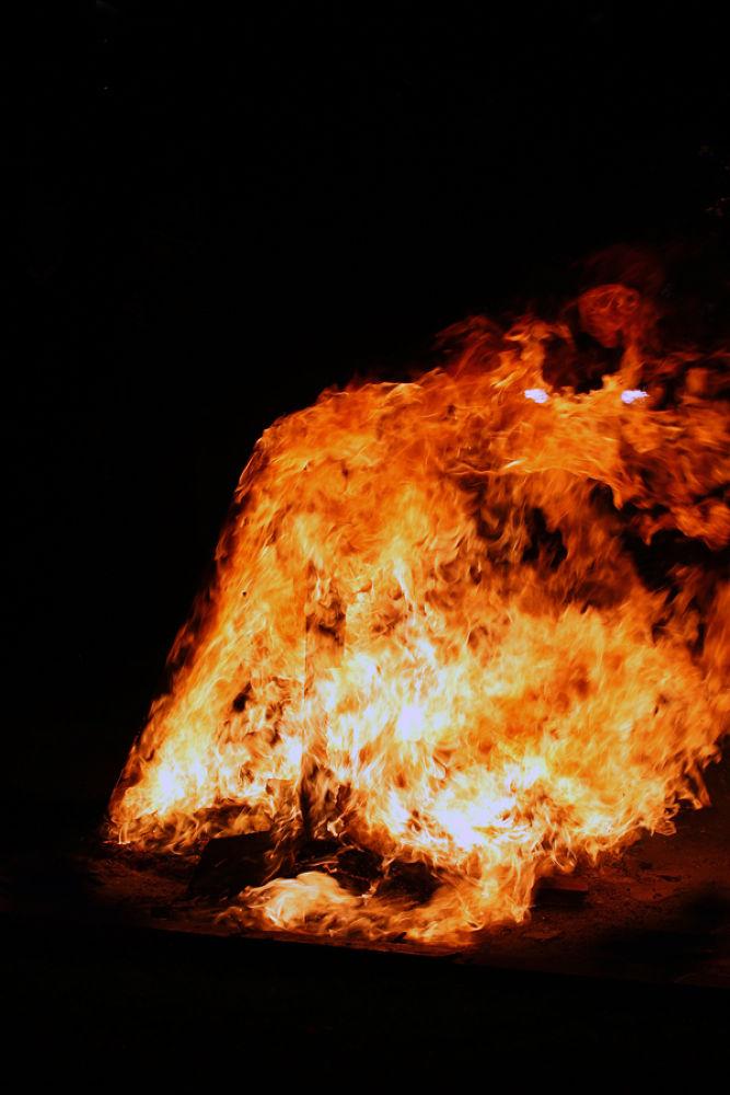 Fire Demon by AmirAli Ranvar