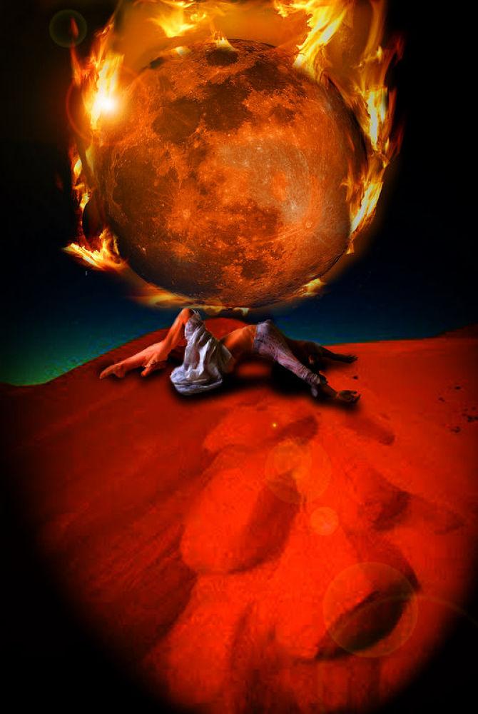 luna llena de fuego by Photoestudio Jars