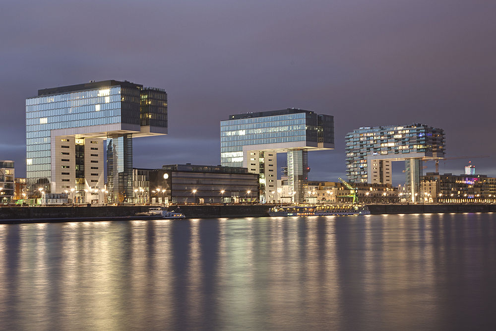 Cologne - Kranhaeuser by Dirk Adolphs Photography