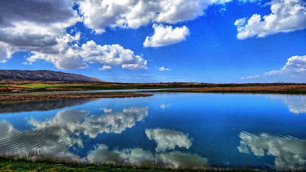 Photo in Random #hdr #sea #spring #water #cloud #nebula #beni mellal #light