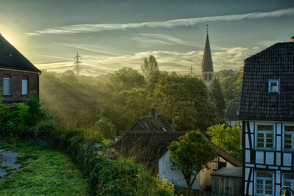 In The Morning by wolfdomscheit
