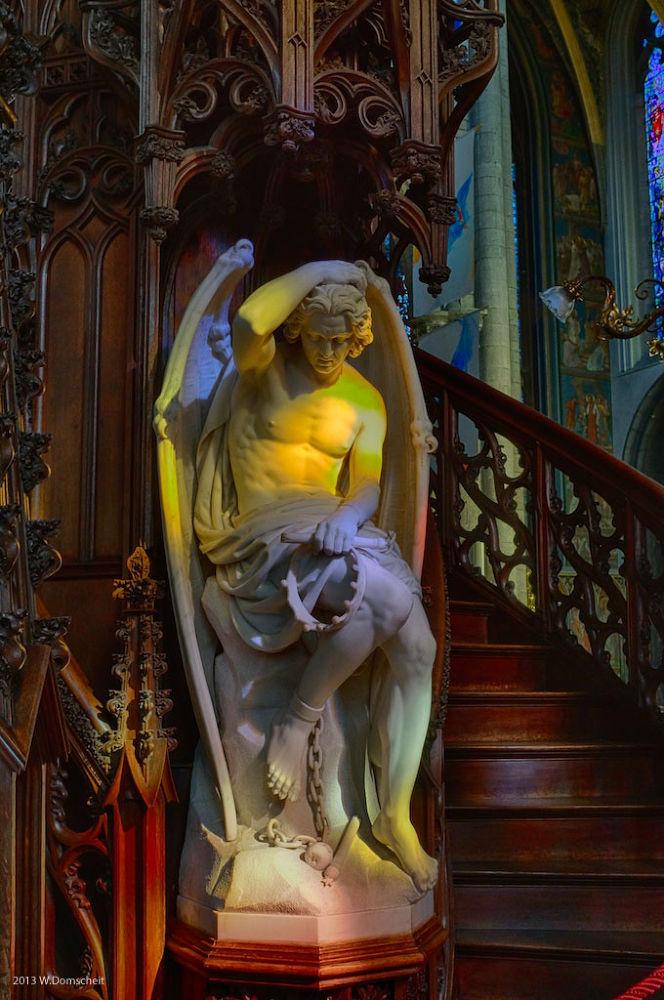 Cathédrale Saint-Paul, Liége by wolfdomscheit