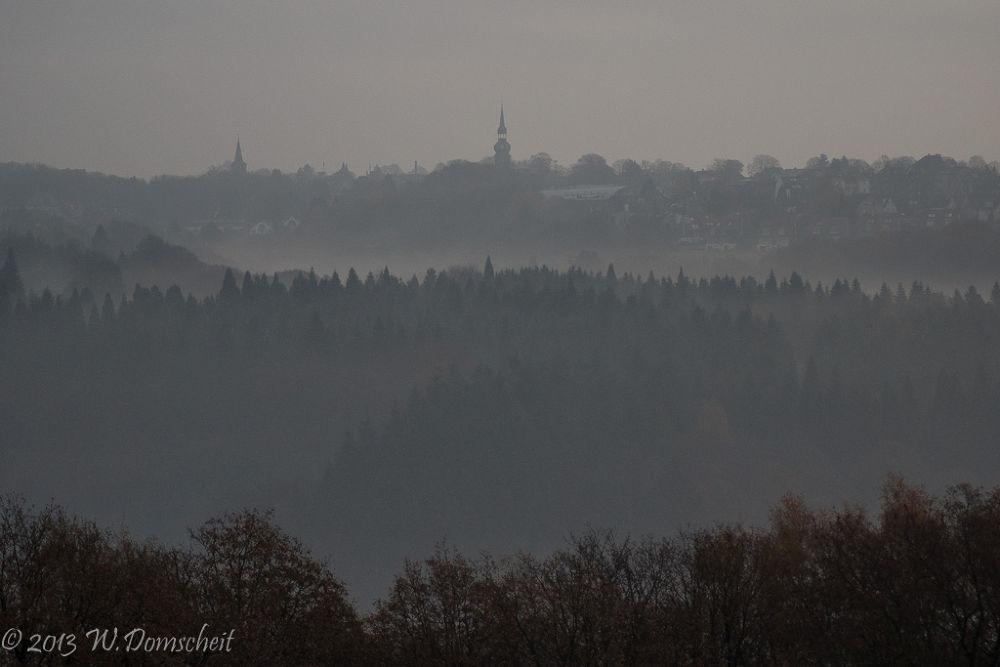 Novembermorgen, November Morning by wolfdomscheit