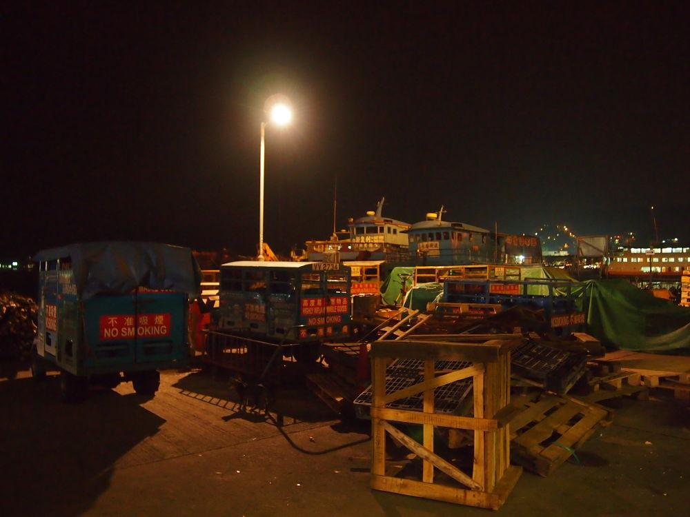 Night Scene in Island (2013) by Mickey Lee