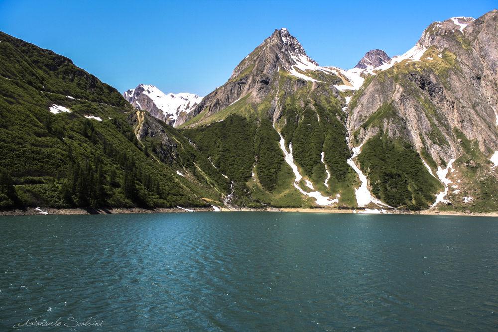 Lago di Morasco in Val Formazza VB by giancarlo