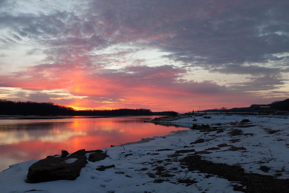 Sunset over Grafton by RichardKeeling