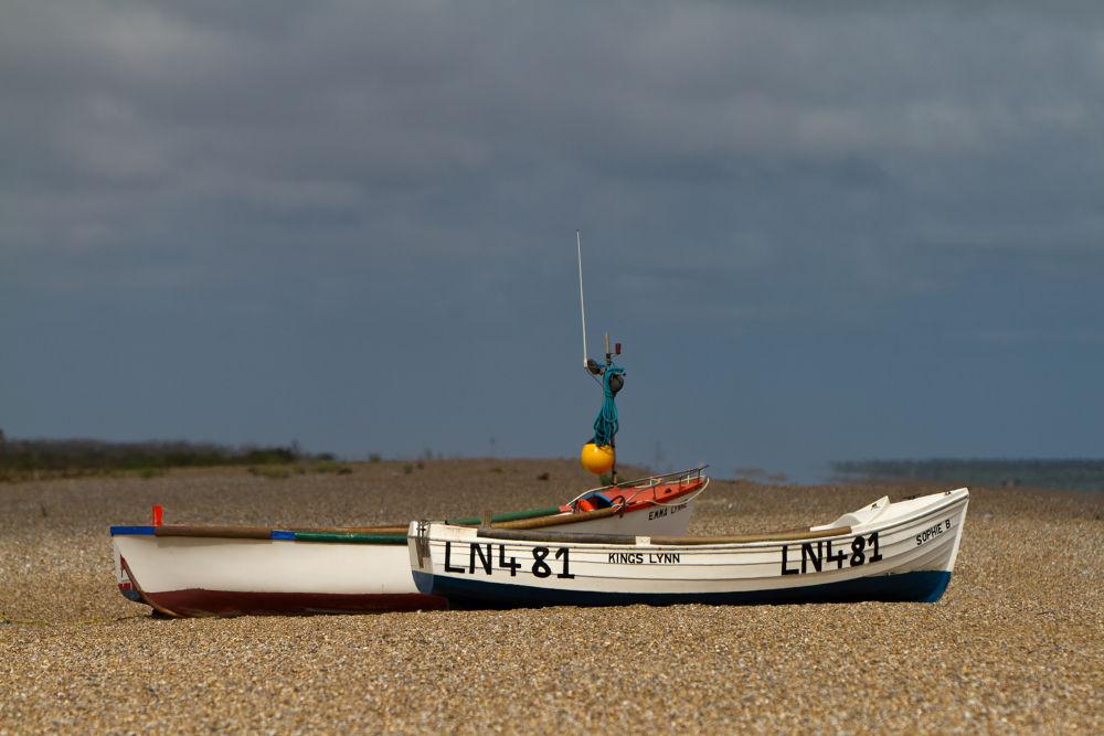 Fishing Boats by RichardKeeling