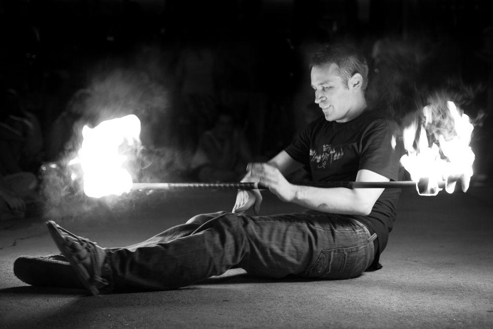 Flame Man by RichardKeeling