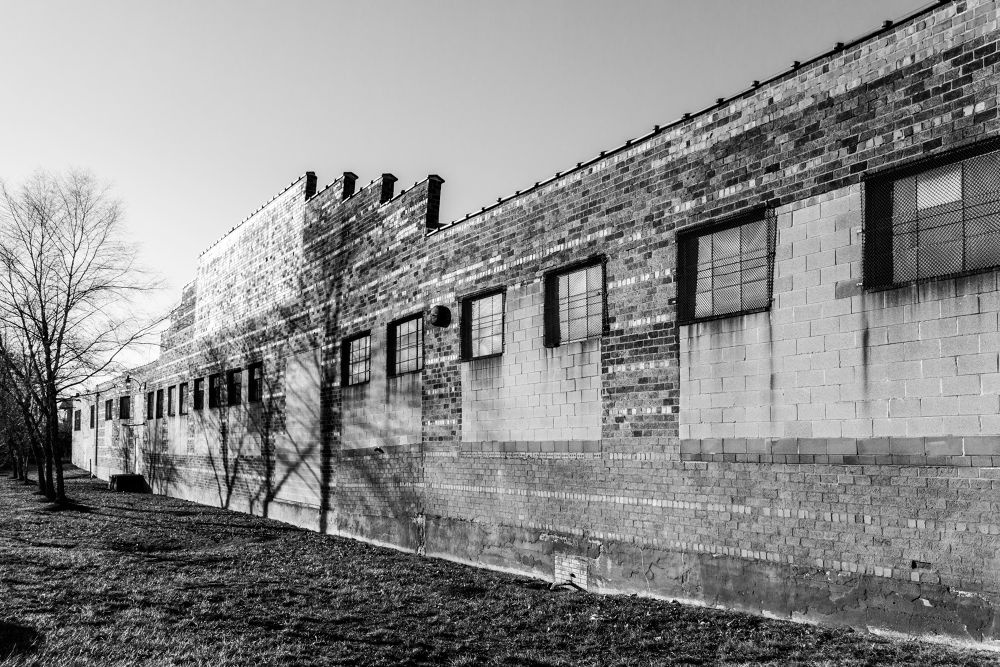 Factory Wall by RichardKeeling