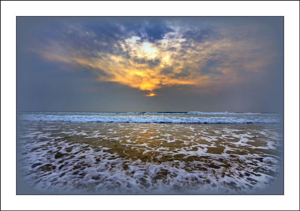 North Beach seaside, Durban  by Andrew Harvard