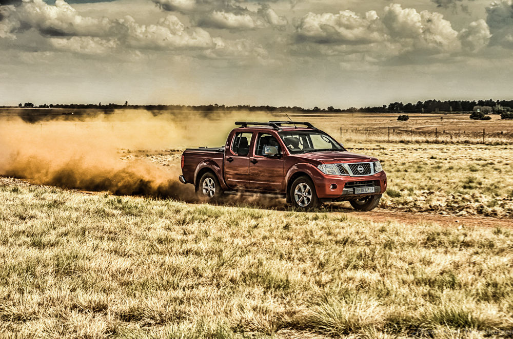 Photo in Vehicle #nissan navara #red star raceway #mpumalanga #4x4 track #countryside