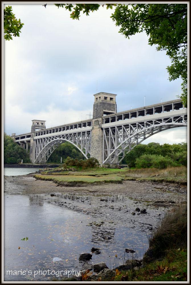 britannia bridge  by marieleather
