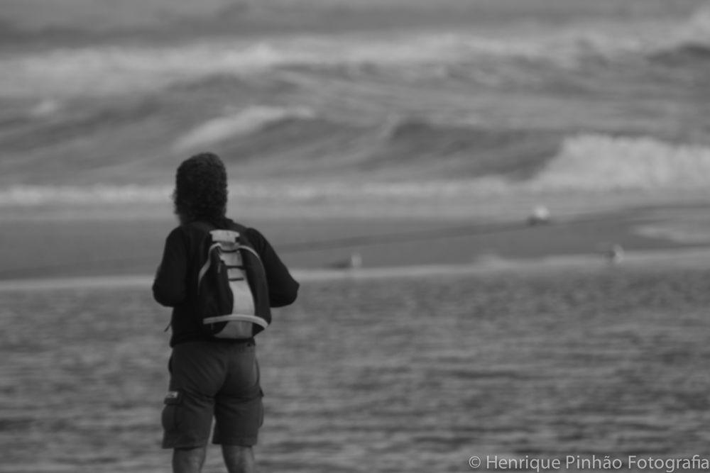 Photo in Sea and Sand #fisherman #sea #fish #aguda