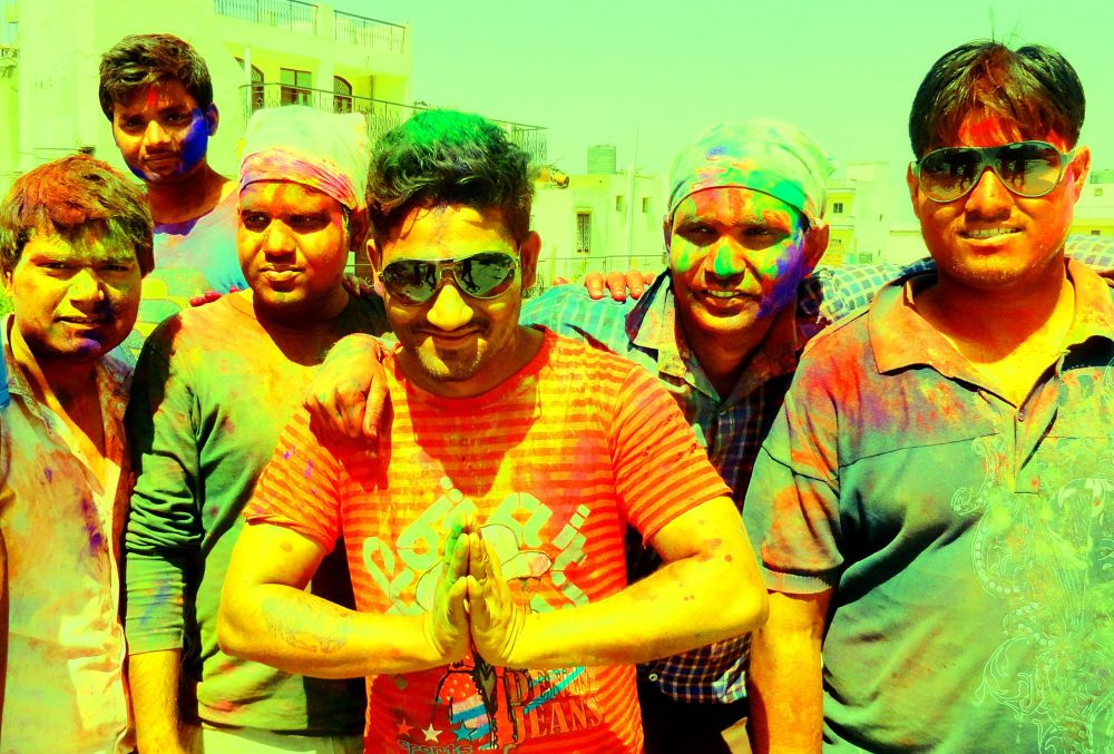 happy holi ... by tigaer007