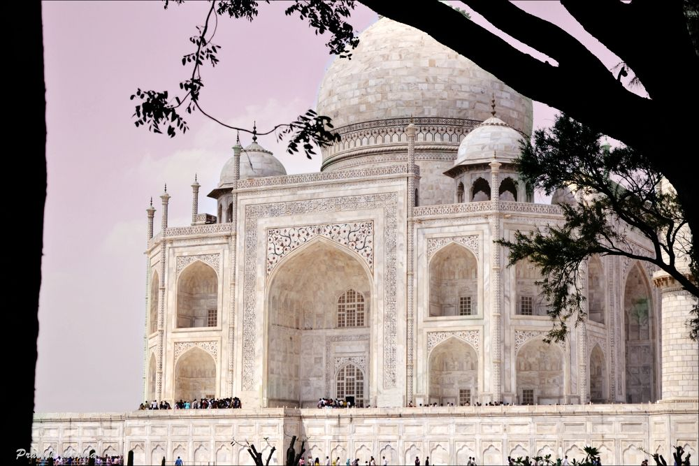 Taj Mahal by Prateek Sharma