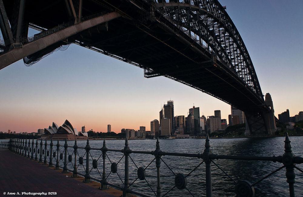 Photo in Random #ypa2013 #landscape #cityscape #sydney #australia #nsw #harbourbridge #harbour #operahouse #scenery #views #inspiration #harbor #sea