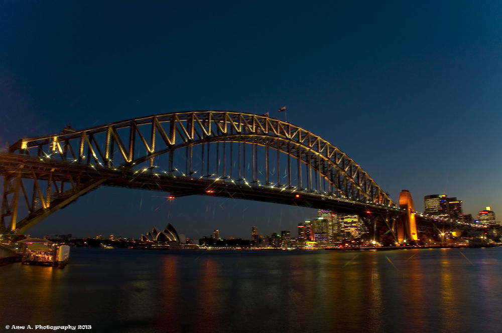 Sydney Harbour Bridge by Argie Alvarez-Calibo