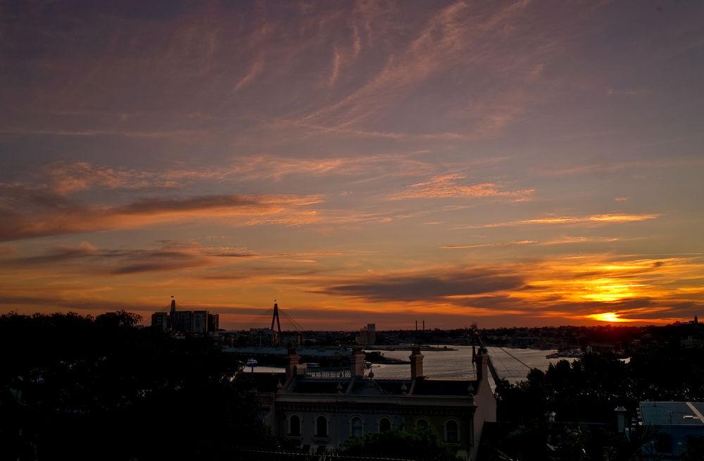 Photo in Random #ypa2013 #sunset #sydney #nsw #australia #scenery #views #inspiration #city #orange