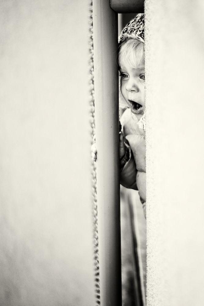 Photo in Portrait #child #portrait #girl #b&w