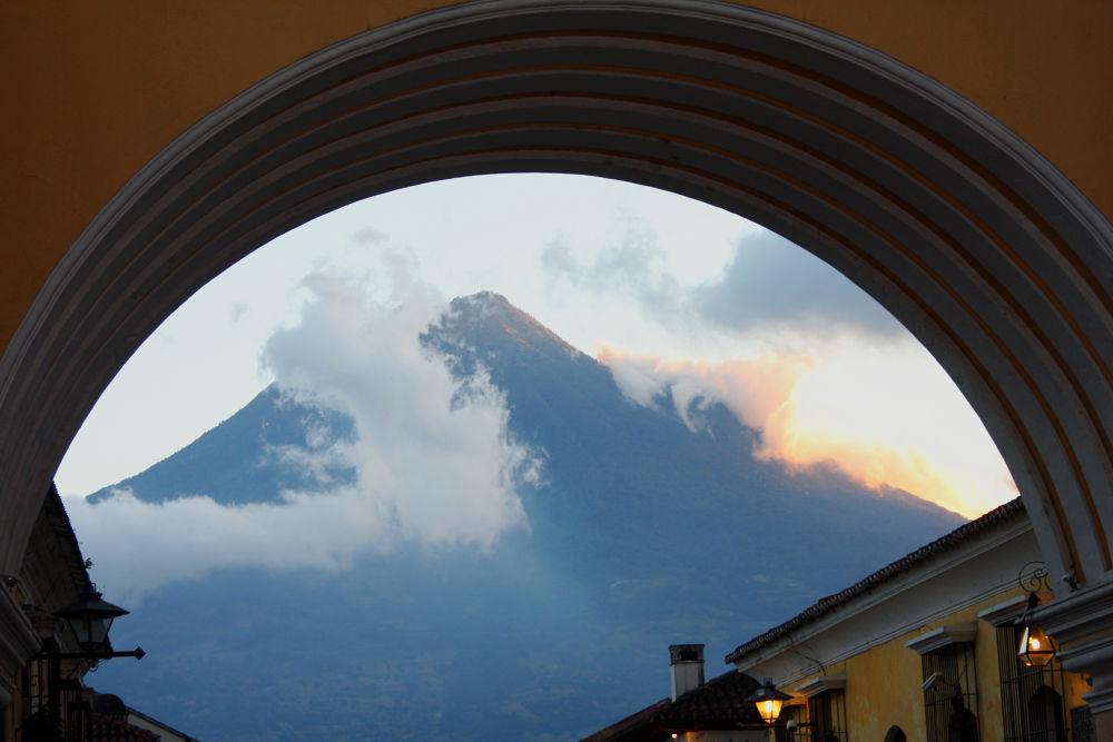 Volcan de Agua by Jessica Cambara