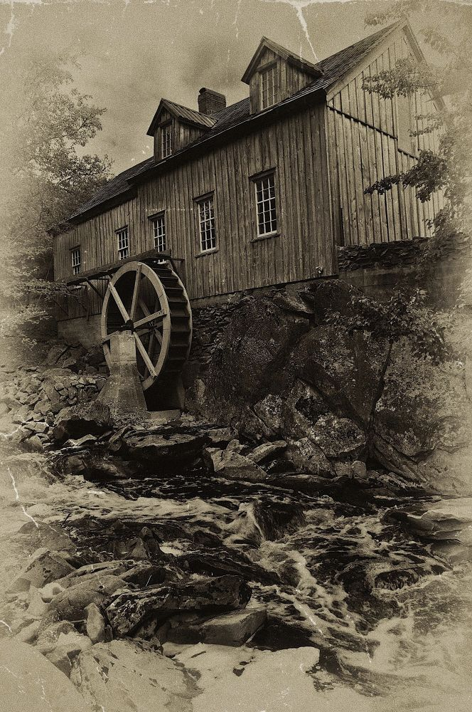Sable River Mill by paulhamilton969952