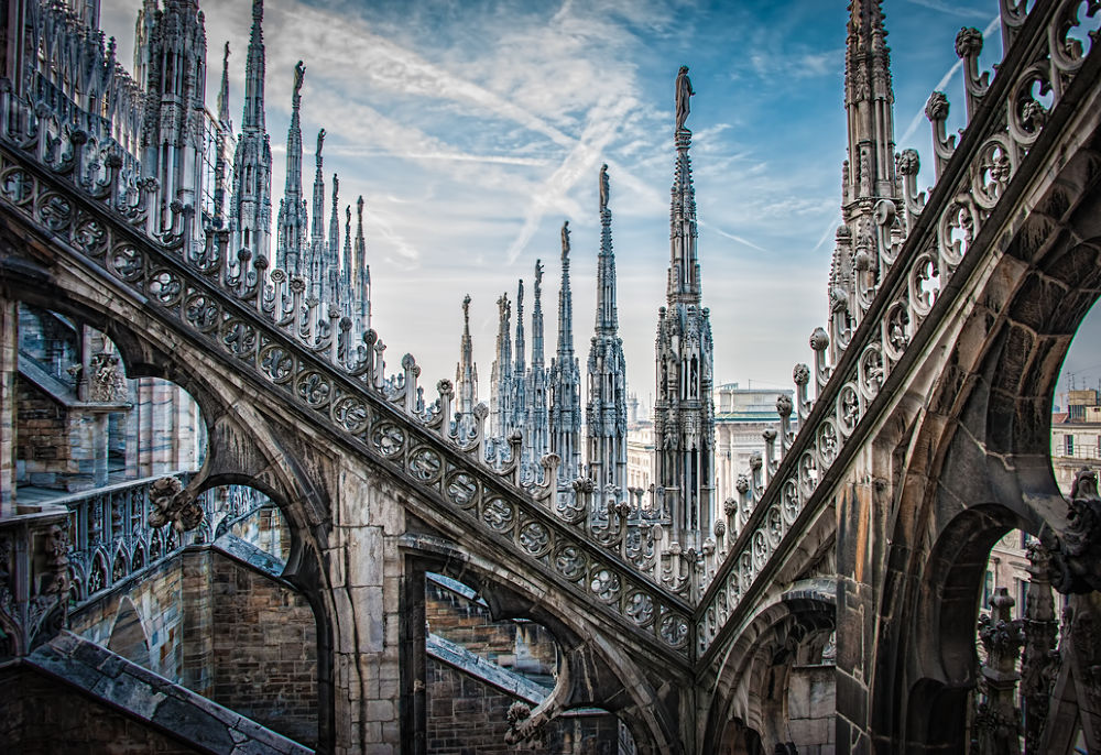 Duomo-Rooftop by gjkingphotography