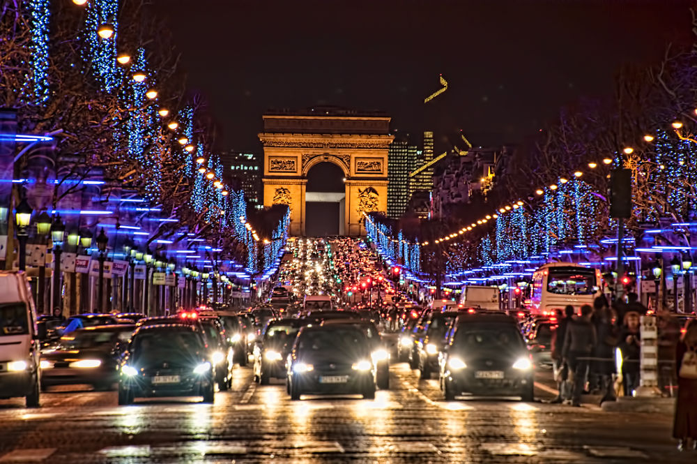 Photo in HDRI #hdr #d3 #france #paris #europe #winter #tourist attraction