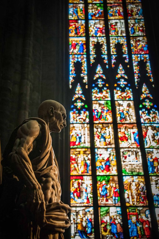 Duomo Statue by gjkingphotography