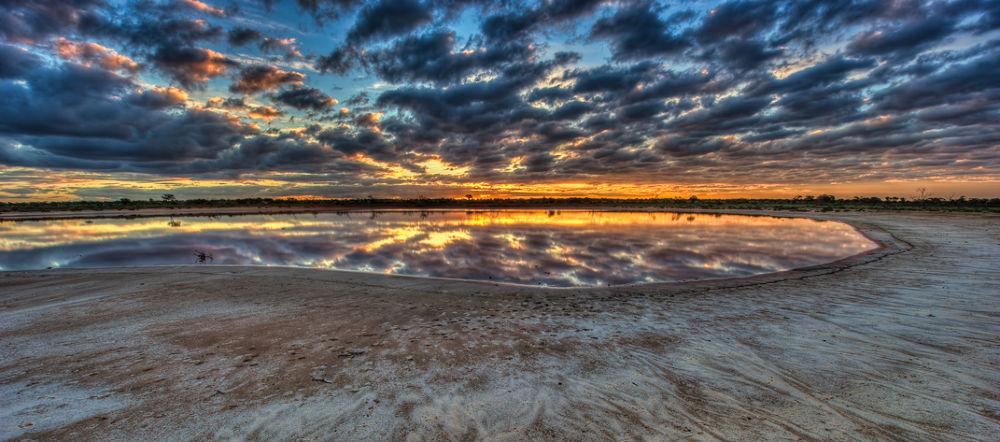 Salt-Flat-Sunset-4 by gjkingphotography