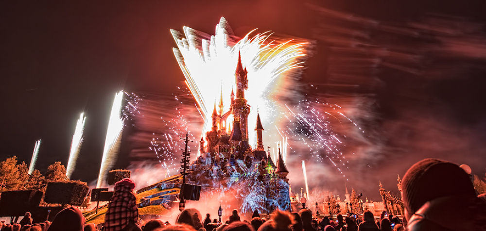 Disney-Fireworks by gjkingphotography