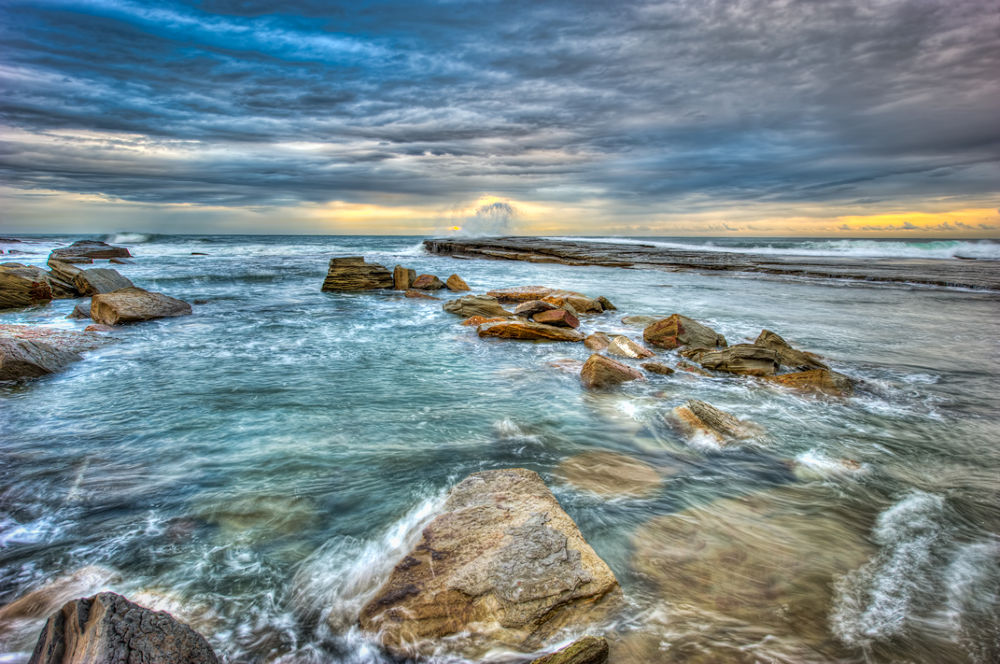 Terrigal-Rocks-3 by gjkingphotography