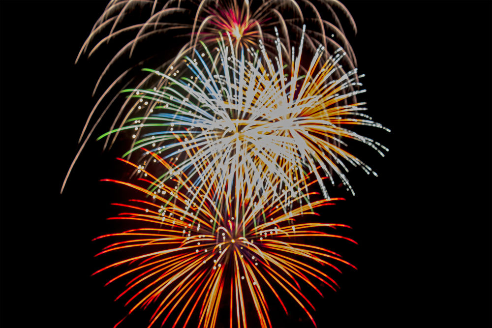 New Years Eve 2014 Fireworks 2 by Elysian Photography