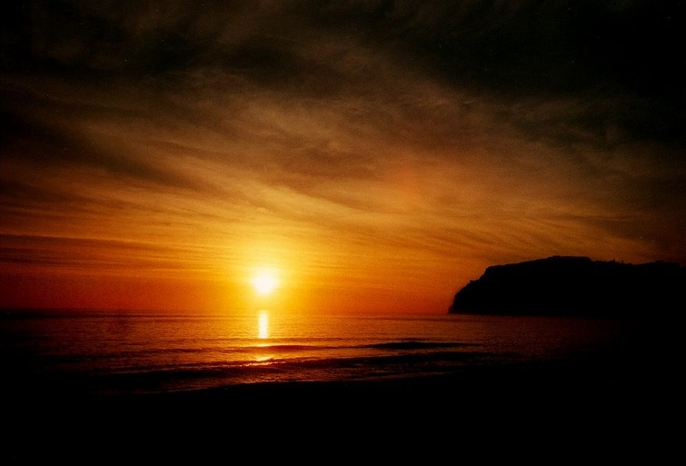 Photo in Random #nature #sunset #sky #water