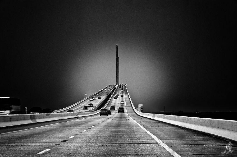 Highway to the sky by Alessandro Giorgi Art Photography